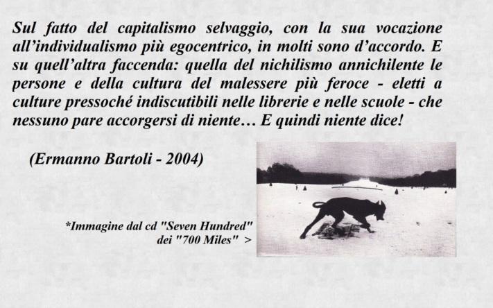 Capitalismo selvaggio & nichilismo