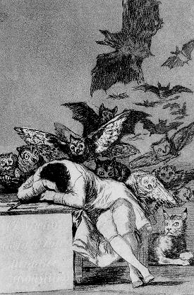 Goya sonno della ragione