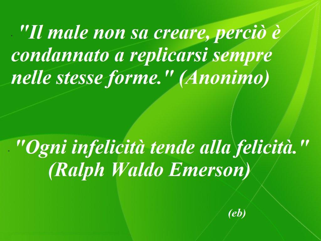 Male & infelicità (Anonimo - RWE)