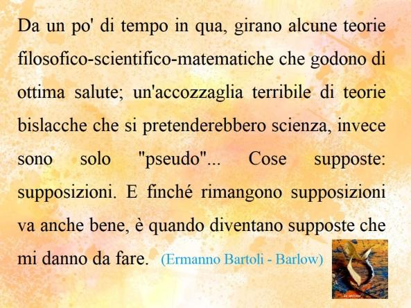 Filosofie e pseudoscienze