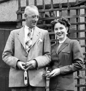 Russell Eric Frank & Bea Mahaffey