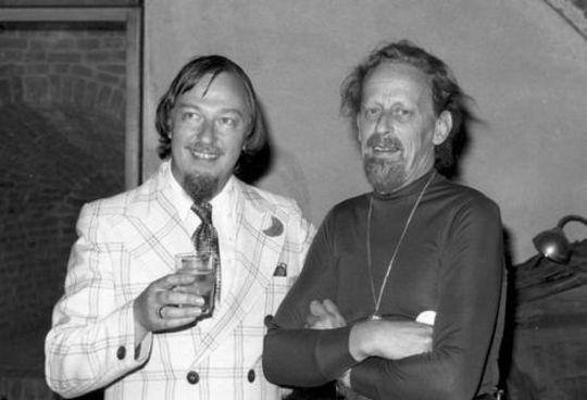 Sturgeon e Brunner a Ferrara 1 (1976) Portafoto