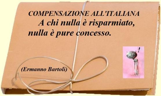 Compensazione all'italiana
