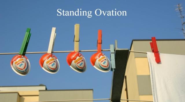 eb Standing Ovation - title