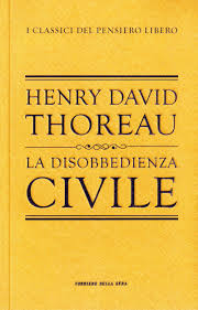 Thoreau - La Disobbedienza Civile cover