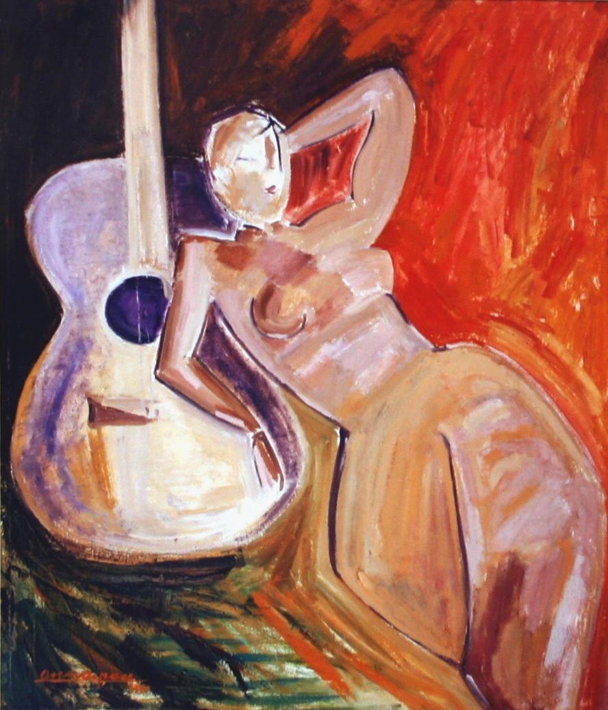 Anna chitarra