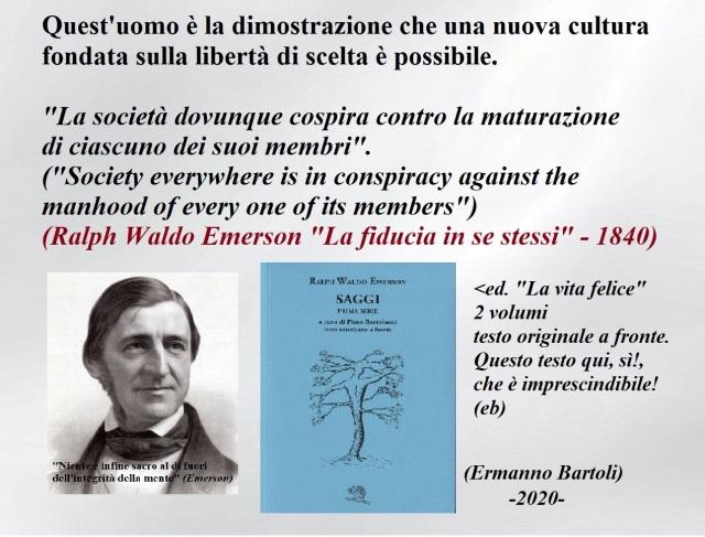 Emerson Società e cospirazione